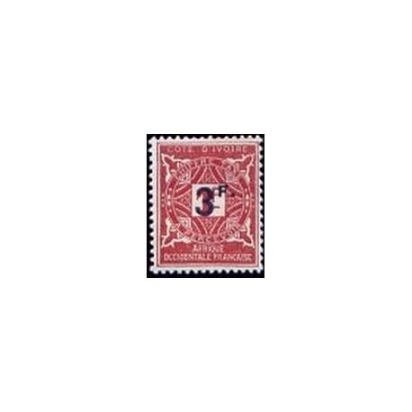 Cote d'Ivoire N° TA018 N *