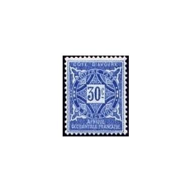 Cote d'Ivoire N° TA013 N *