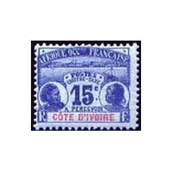 Cote d'Ivoire N° TA003 Obli