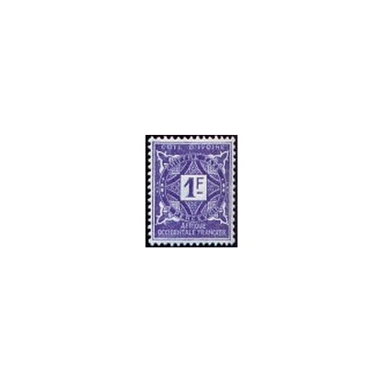 Cote d'Ivoire N° TA016 N *