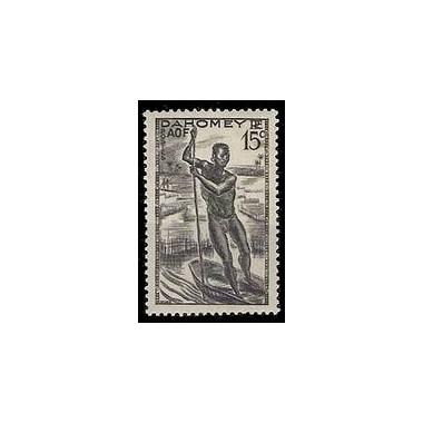 Dahomey N° 124 N **
