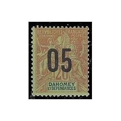 Dahomey N° 036 Obli