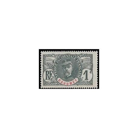 Dahomey N° 018 Obli