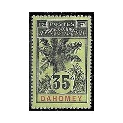Dahomey N° 026 Obli