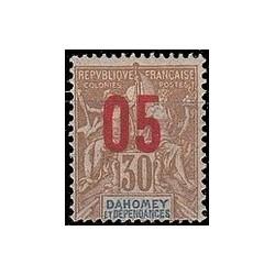 Dahomey N° 038 Obli