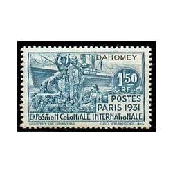 Dahomey N° 102 Obli