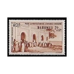 Dahomey N° PA007 Obli