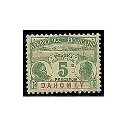 Dahomey N° TA001 N **