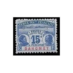 Dahomey N° TA003 Obli