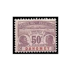 Dahomey N° TA006 Obli