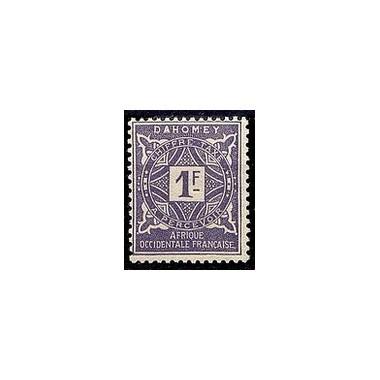 Dahomey N° TA016 N *