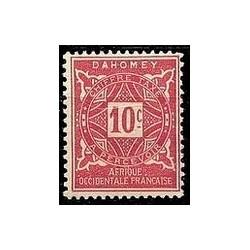 Dahomey N° TA010 N **