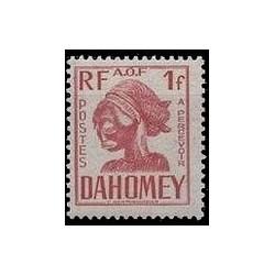 Dahomey N° TA026 N **