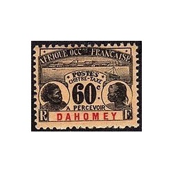 Dahomey N° TA007 Obli