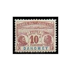 Dahomey N° TA002 Obli