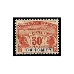 Dahomey N° TA005 Obli