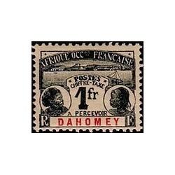 Dahomey N° TA008 Obli