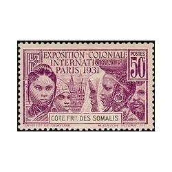 Cote des Somalis N° 138 N **