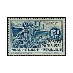Cote des Somalis N° 140 N **