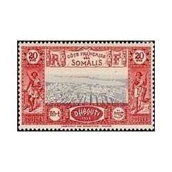Cote des Somalis N° 169 N **