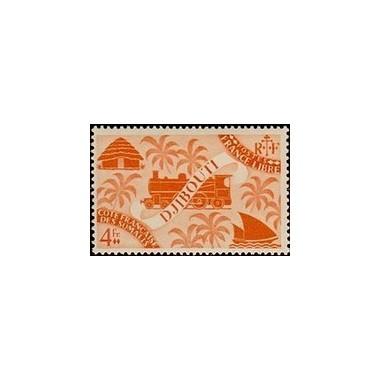 Cote des Somalis N° 244 N **