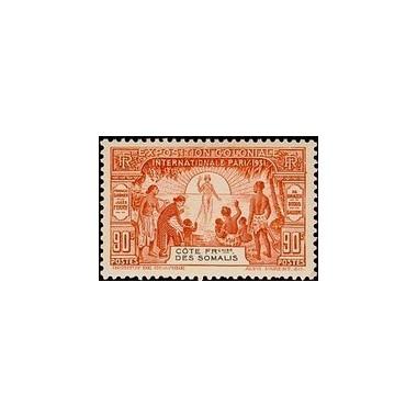 Cote des Somalis N° 139 N *