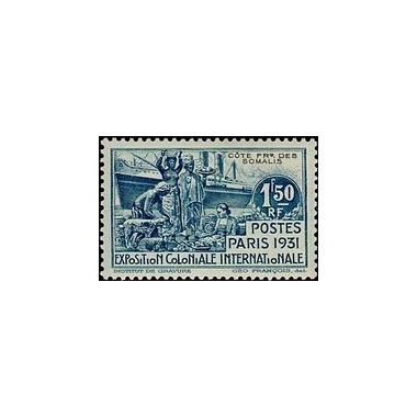 Cote des Somalis N° 140 N *