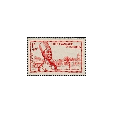 Cote des Somalis N° 188 N *