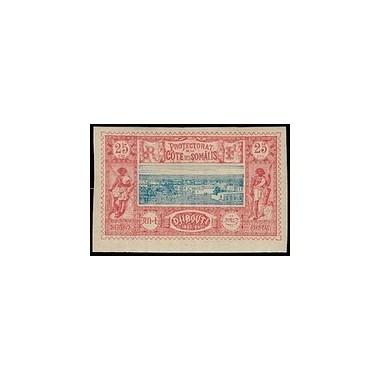 Cote des Somalis N° 012 Obli