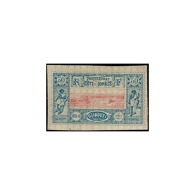 Cote des Somalis N° 015 Obli