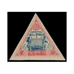 Cote des Somalis N° 019 Obli