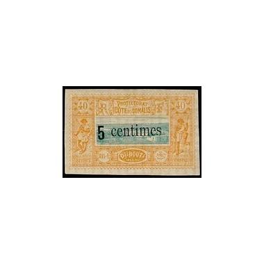 Cote des Somalis N° 028 Obli
