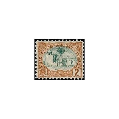 Cote des Somalis N° 038 Obli