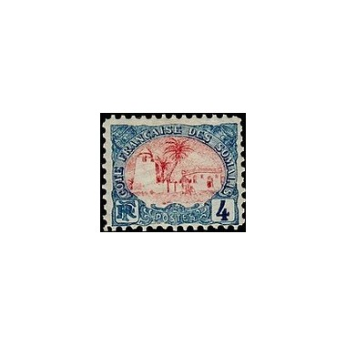 Cote des Somalis N° 039 Obli