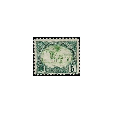 Cote des Somalis N° 040 Obli