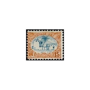 Cote des Somalis N° 042 Obli