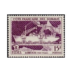 Cote des Somalis N° 285 Obli
