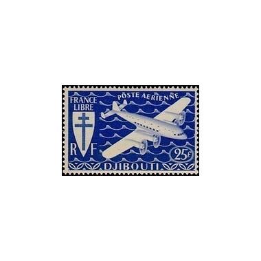 Cote des Somalis N° PA 005 Obli