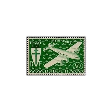 Cote des Somalis N° PA 006 Obli