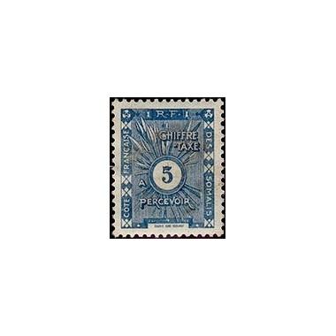 Cote des Somalis N° TA 011 N **