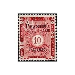 Cote des Somalis N° TA 022 N **