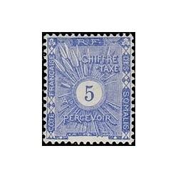 Cote des Somalis N° TA 001 N *