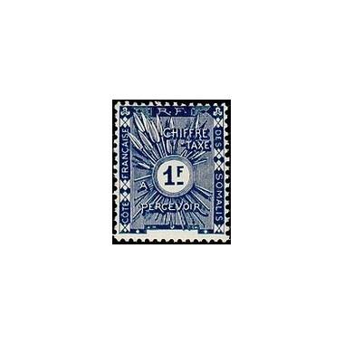 Cote des Somalis N° TA 008 N *