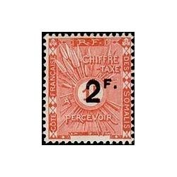Cote des Somalis N° TA 009 N *