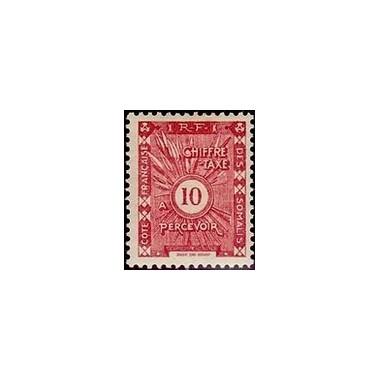 Cote des Somalis N° TA 012 N *