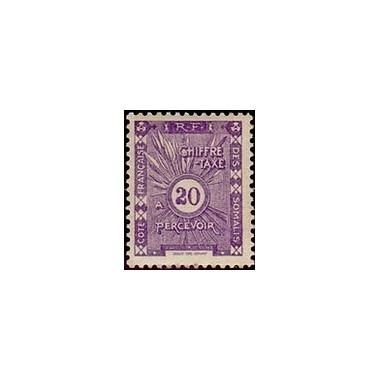 Cote des Somalis N° TA 014 N *