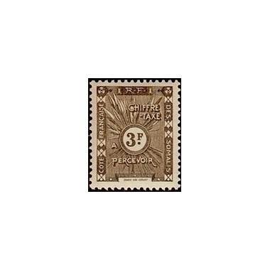 Cote des Somalis N° TA 020 N *