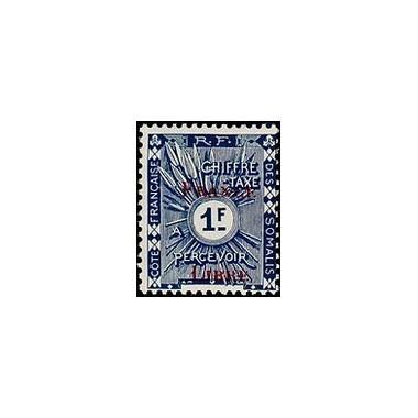 Cote des Somalis N° TA 028 N *