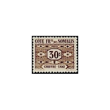 Cote des Somalis N° TA 045 N *