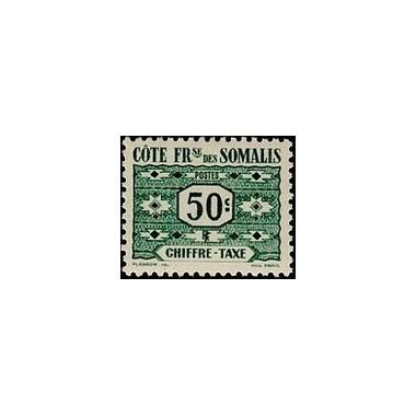 Cote des Somalis N° TA 046 N *